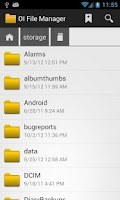 Screenshot of OI File Manager