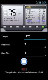 TempoPerfect Metronome Free - screenshot thumbnail