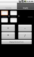 Screenshot of Fraction Calculator (no ad)