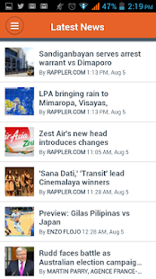 Rappler - screenshot thumbnail