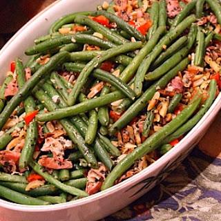 Garlic Green Beans w/ Prosciutto