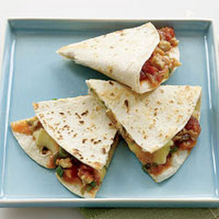 Fruit-and-Brie Quesadillas
