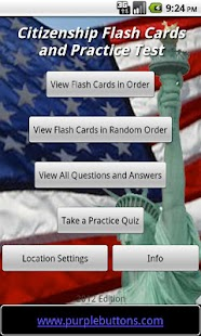 Free US Citizenship Test 2016- screenshot thumbnail