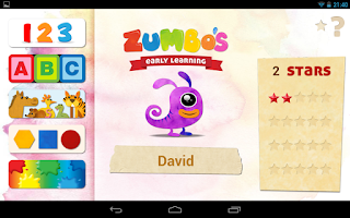 Screenshot of Zumbo's Early Learning