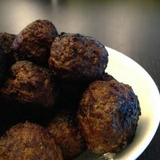 Wild Boar Meatballs