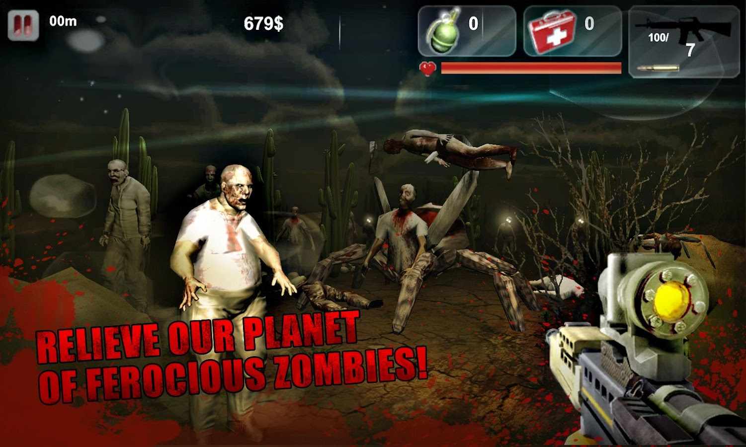 Zombies apocalypse 3D- screenshot