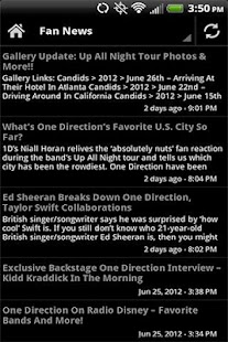 One Direction News Videos - screenshot thumbnail
