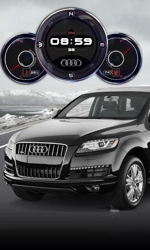 Audi Q7 Compass Battery HD LWP