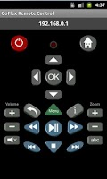 Screenshot of GoFlex TV Remote Control