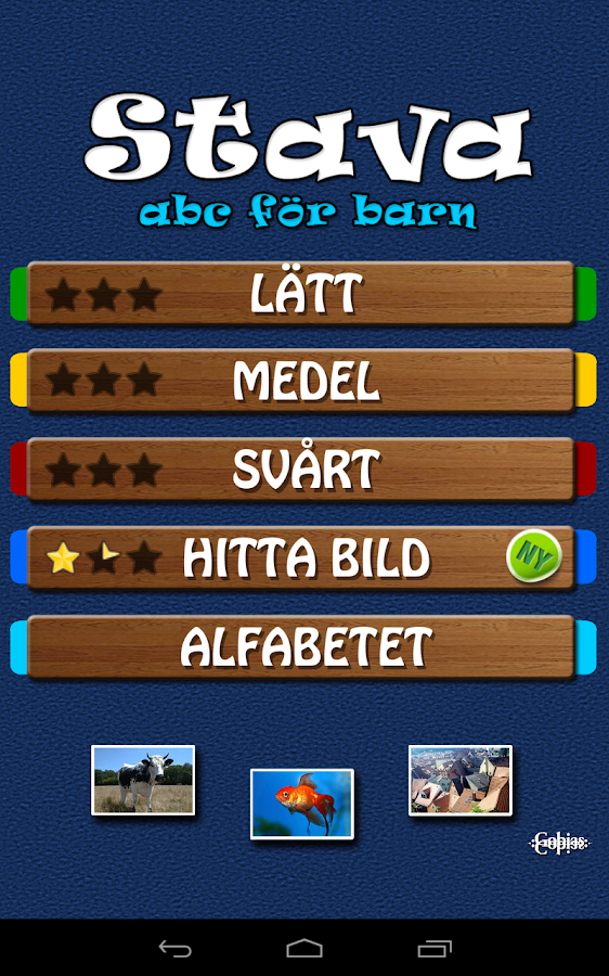 Stava - ABC för barn - screenshot