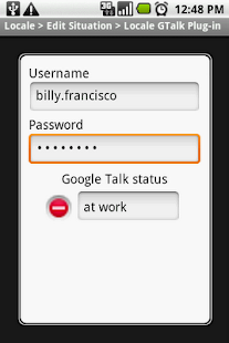 Locale GTalk Plug-in- screenshot thumbnail
