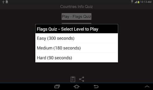 Countries Capital Flag Quiz - screenshot thumbnail