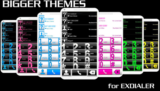 THEME BIG YELLOW FOR EXDIALER