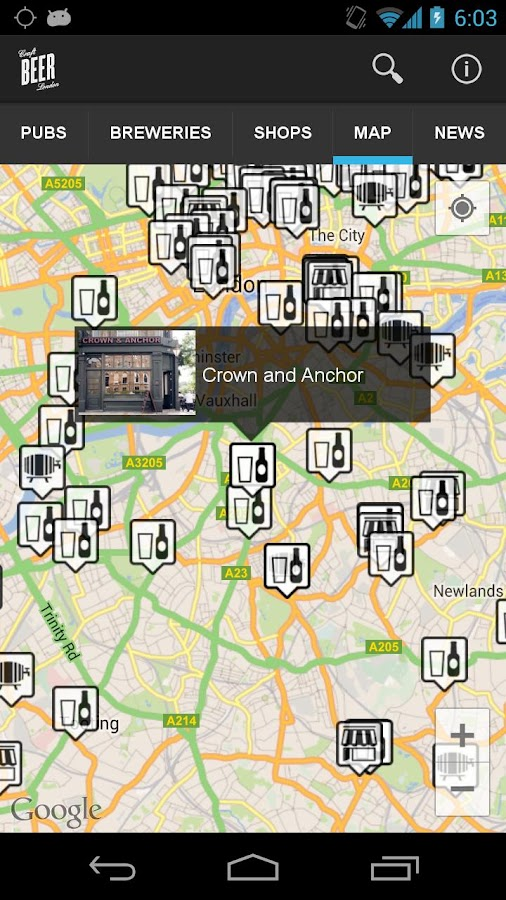 Craft Beer London - screenshot