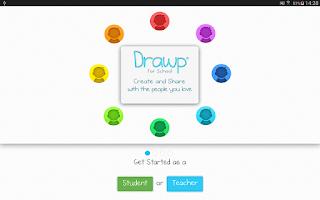 Screenshot of Drawp For School