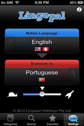 Lingopal葡萄牙語