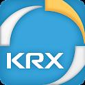 한국거래소 KRX 모바일서비스 logo