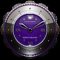 Dragon Clock Widget purple icon