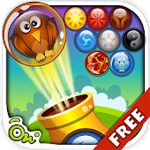 Clumsy Bird Rescue Bubble Game