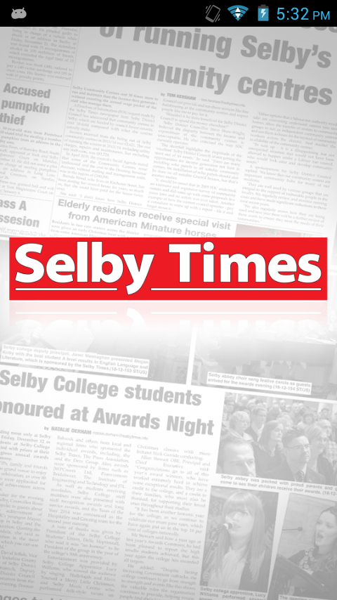 Selby Times- screenshot
