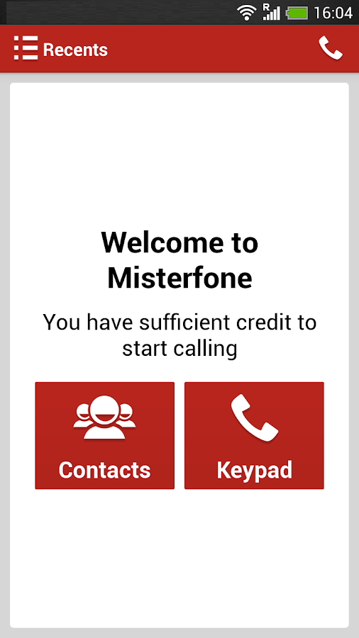 Misterfone - Cheap Calls- screenshot