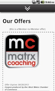 Matrx Coaching Suzanne Whyte- screenshot thumbnail