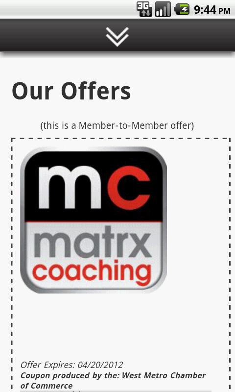 Matrx Coaching Suzanne Whyte- screenshot