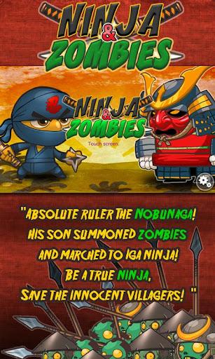 Ninja and Zombies