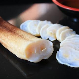 Geoduck, Sashimi and Sautéed
