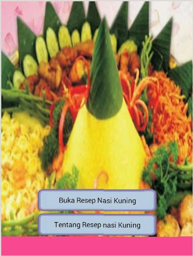 Resep Nasi Kuning Lengkap