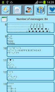 Art Text - Symbol Sms- screenshot thumbnail