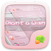Download GO SMS PLANT A WISH THEME APK to PC