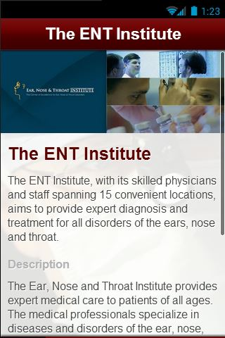 【免費醫療App】The ENT Institute-APP點子