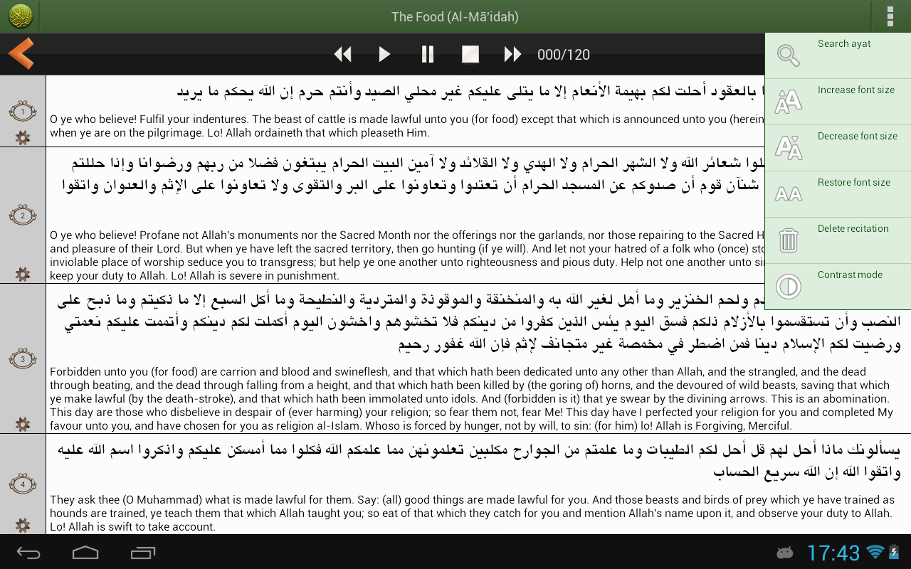 Quran PRO (Pickthall) - Android Apps on Google Play