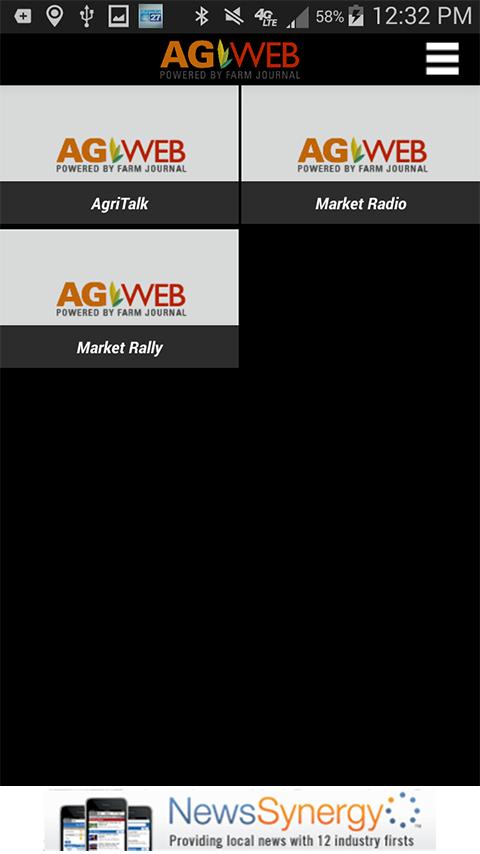 AgWeb News & Markets - screenshot