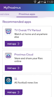 MyProximus- screenshot thumbnail