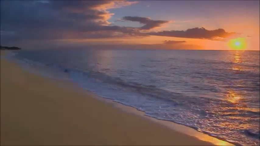 Sunset Beach Live Wallpaper - screenshot