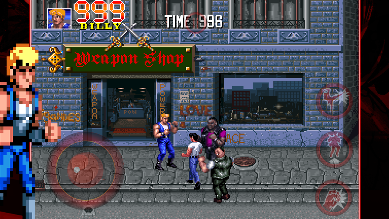 Double Dragon Trilogy - screenshot