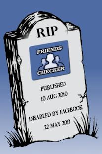 Friends Checker for Facebook - screenshot thumbnail