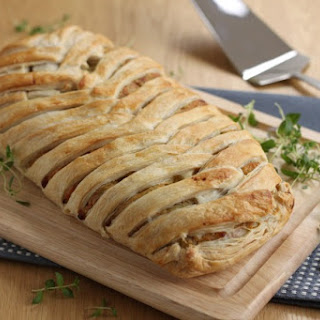 Cheese And Onion Plait.