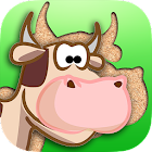 Farm Animals Puzzle Kids Game icon