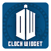 Doctor Who Pixel Clock Widget