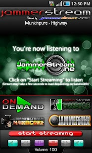 JammerStream Radio - screenshot thumbnail