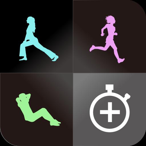 インターバルタイマー+ HIITトレーニング&レコード 運動 App LOGO-APP試玩