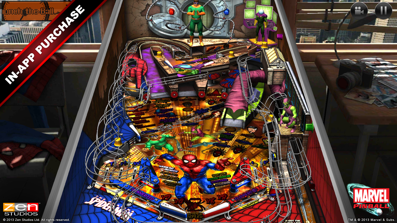 Marvel Pinball- screenshot