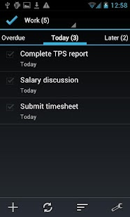 BHive Google Tasks Free - screenshot thumbnail