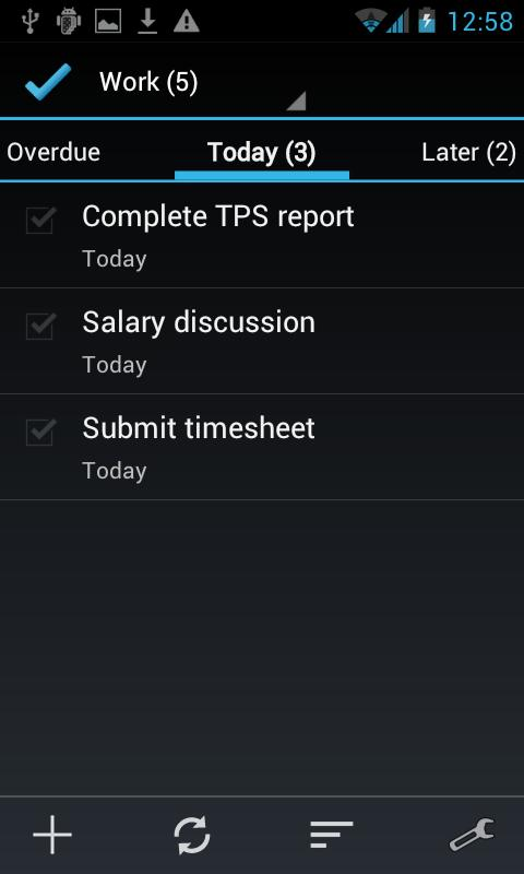 BHive Google Tasks Free - screenshot