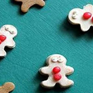 Gingerbread Man Jelly Shots.