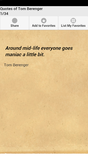 Quotes of Tom Berenger