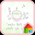 green healing dodol theme icon